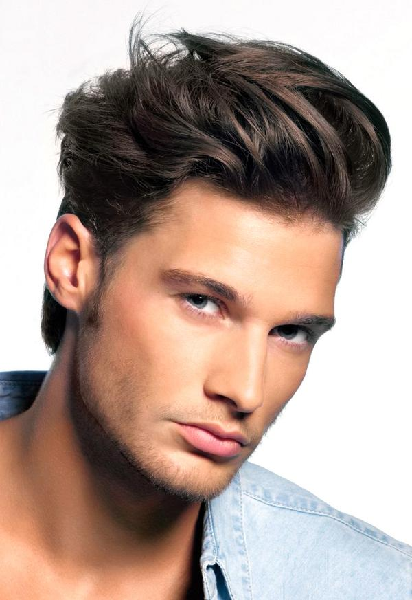Wavy Comb over Haircut