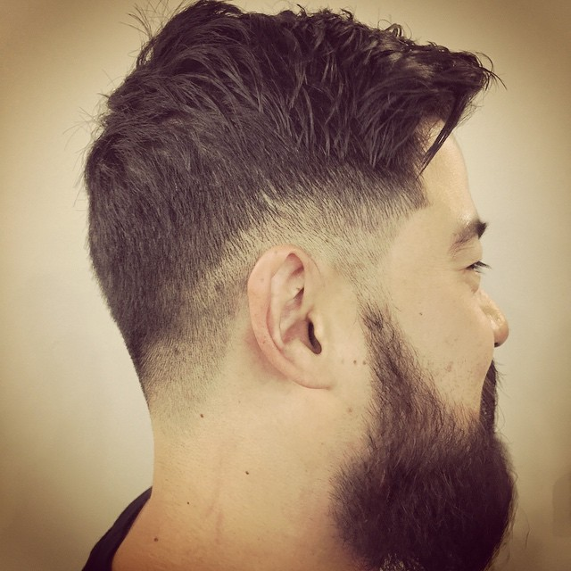 The Rugged and Romantic Haircut