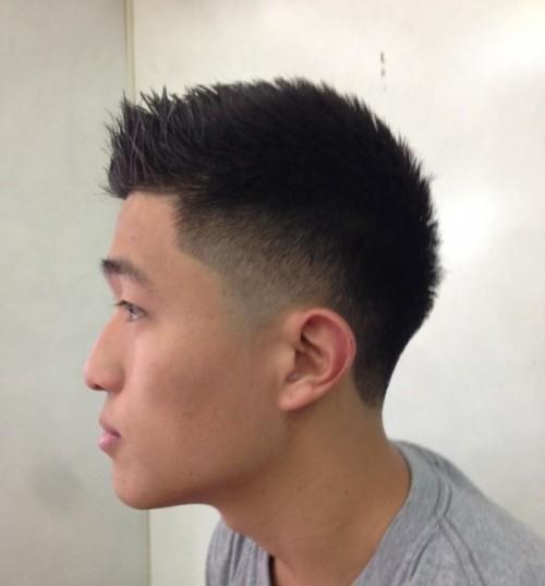 Fade Hairstyles Men Men Faux Hawk Fade Hairstyles Men Hair Styles Fade Haircut Asian