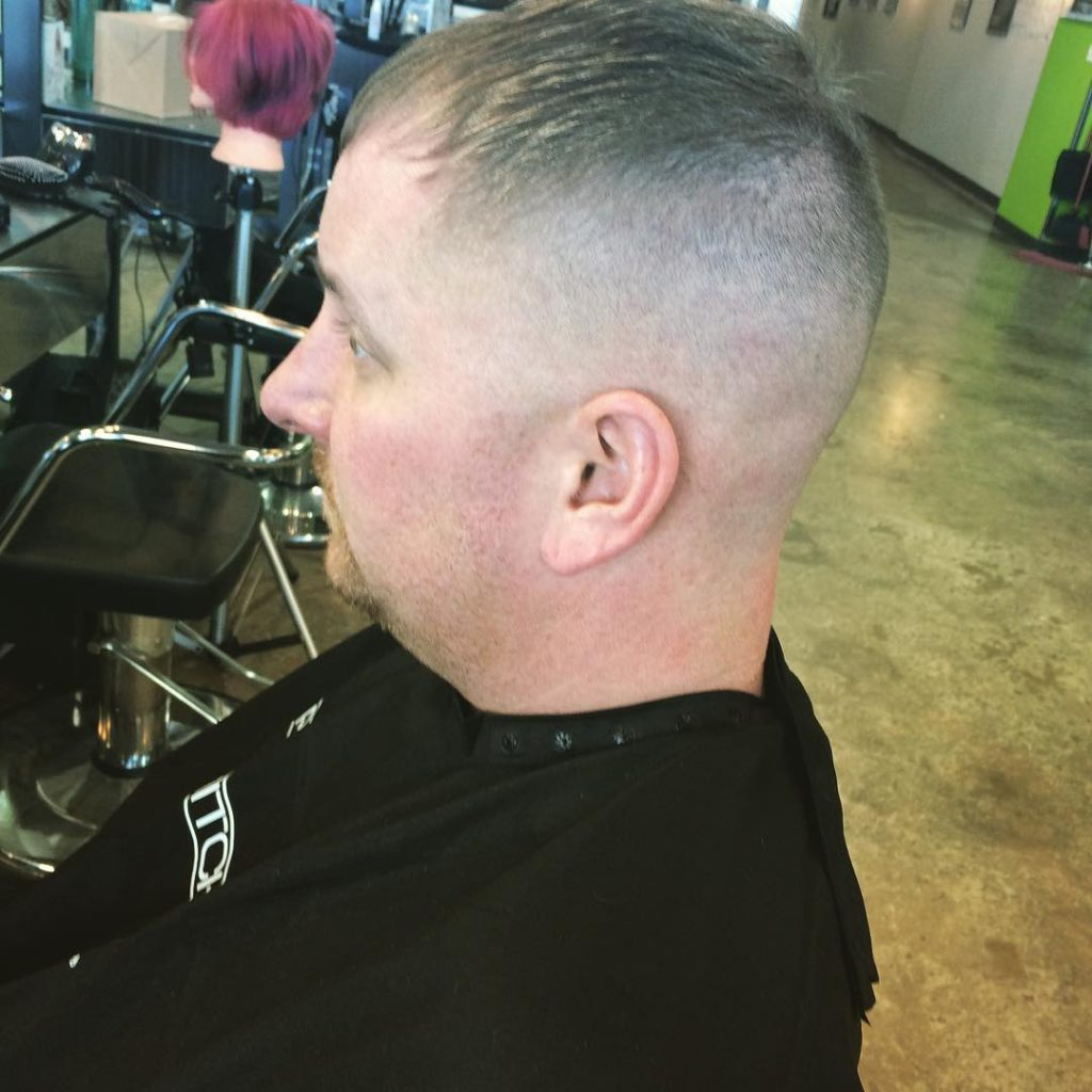 Comb Forward High and Tight