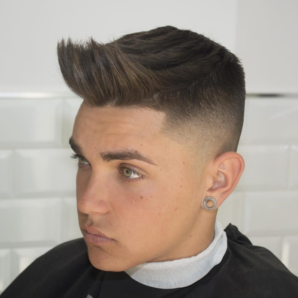 Front Spiky Hairstyle