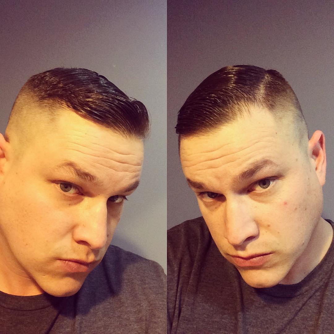 Short and tight haircut