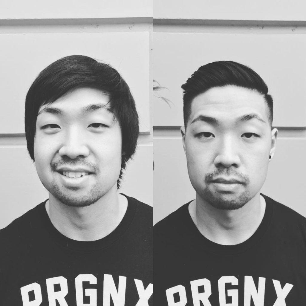 Short Haircut for Asian Men