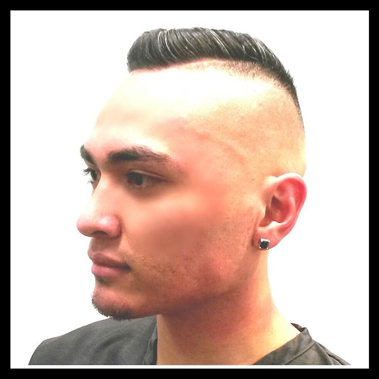 Short Pompadour High and Tight