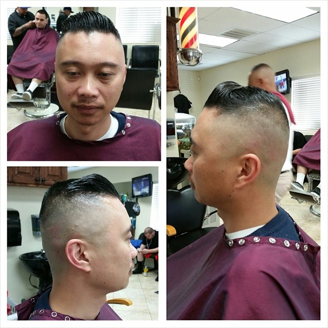Marine High and Tight
