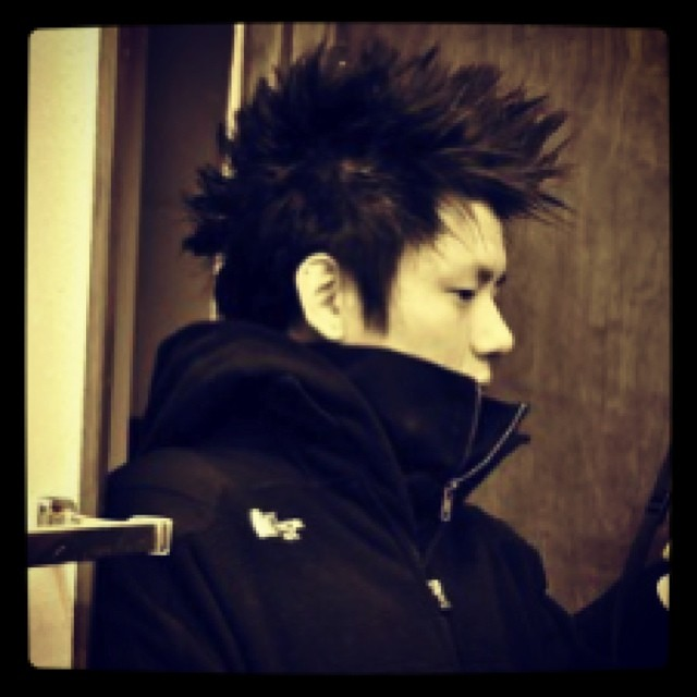 Taper Spiky Hairstyles