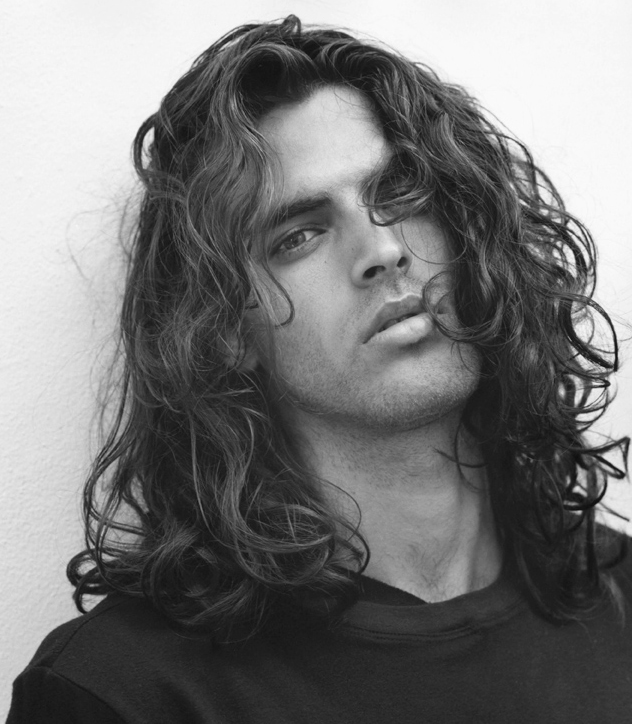 Hairstyles for Men - Long Wavy