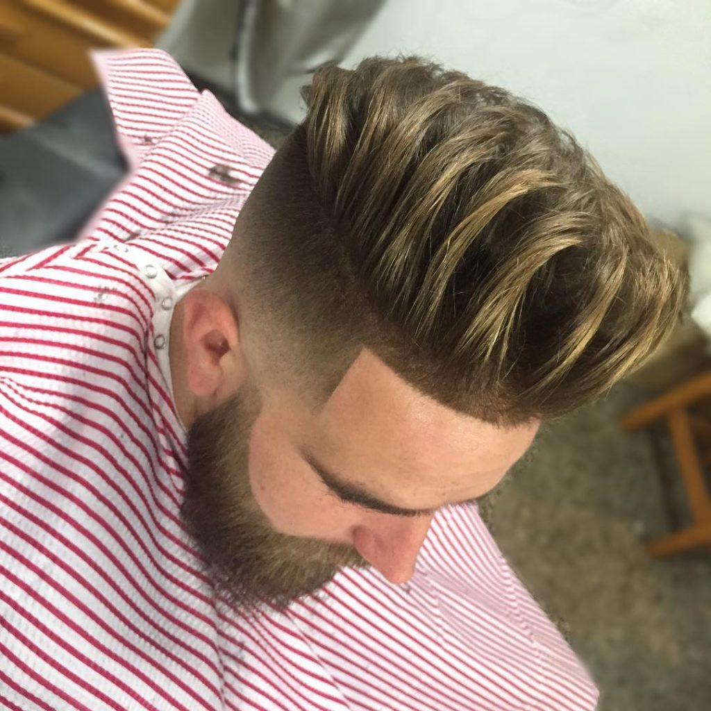 Super Clean High Fade with Super Texture