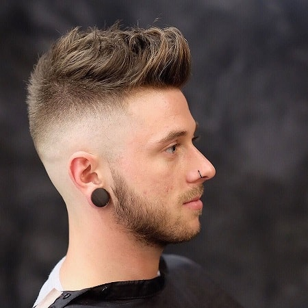 Diffused Hair with Skin Fade