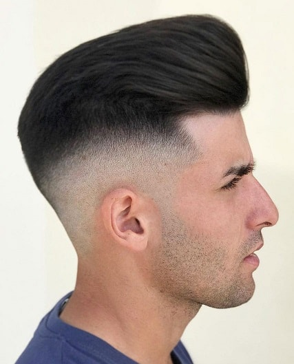 Pompadour Fade Hairstyles