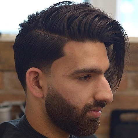 The Long Top Short Sides Hairstyle