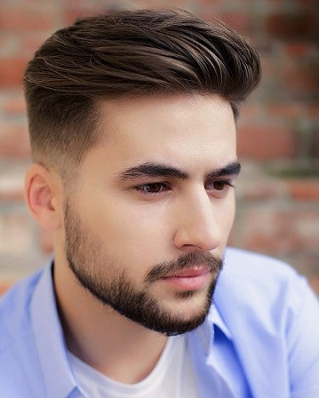 The Perfect Haircut with Cool Beard