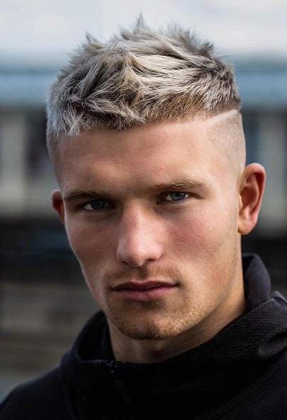 high spiky hairstyles for men