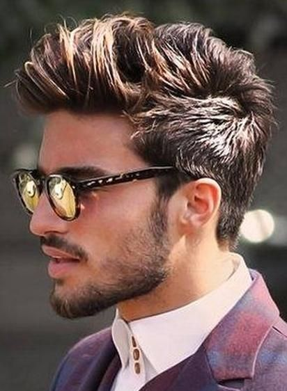 The Faux Hawk Hairstyle