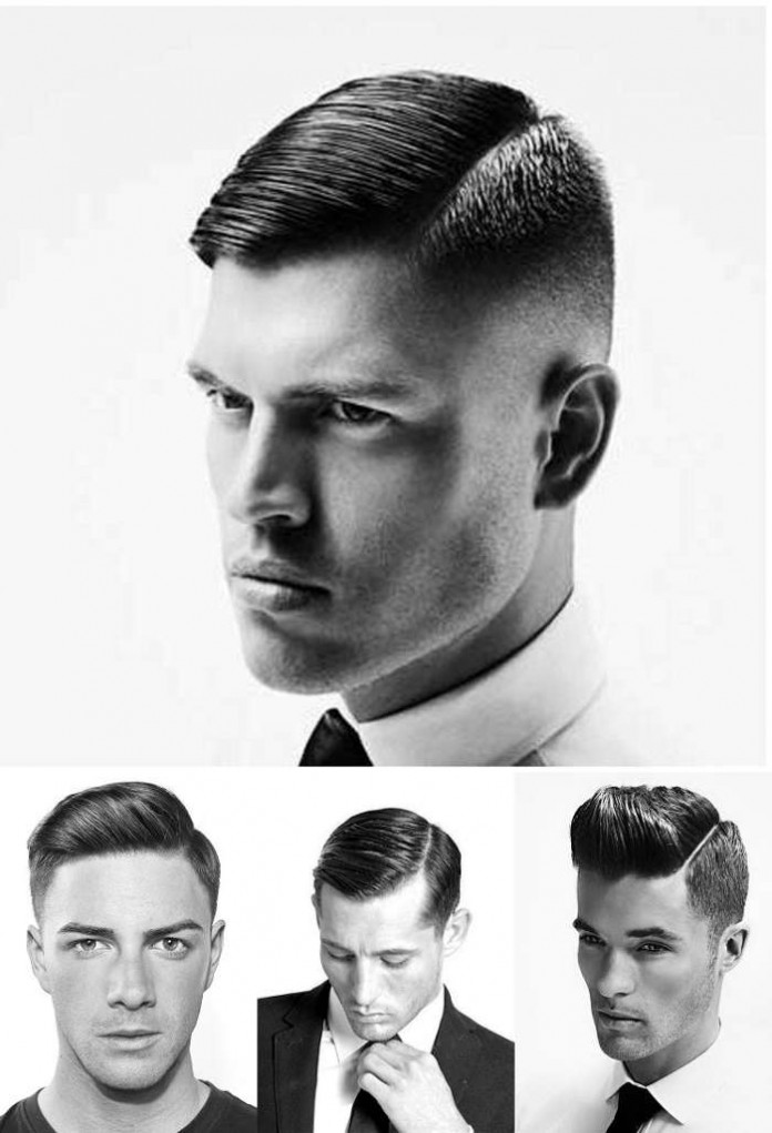 If You Want One Of The Most Flexible Haircuts For Men With Round Faces, The  Side Part Can Be The Best Choice. Compared With Hairstyles Like The  Pompadour, ...