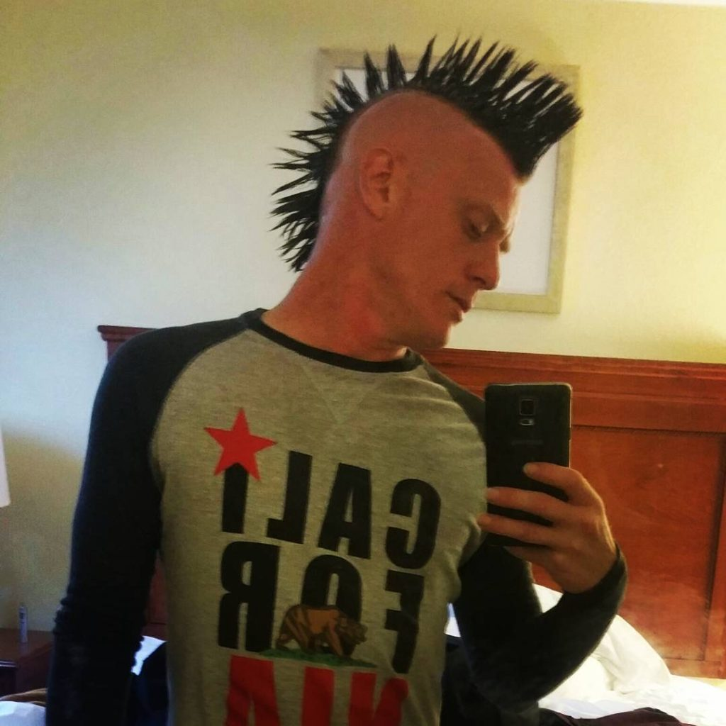 Long Spiky Mohawk Hairstyles