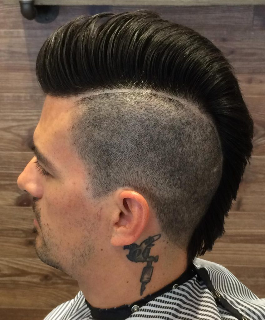 Comb Over Mohawk Styles