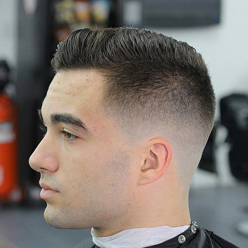 Skin lighten Faux Hawk Haircuts