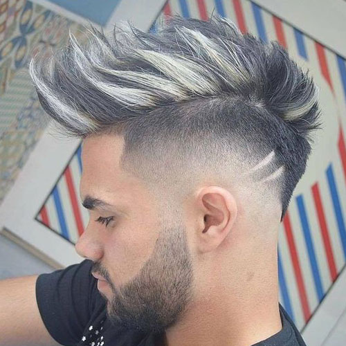 Mohawk Hairstyles: 50 Best Haircuts for Men 2018 - AtoZ ...
