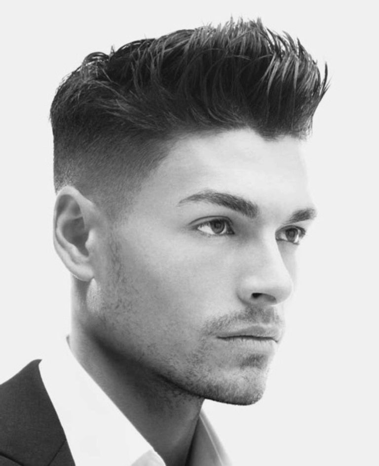 Wondrous Faux Hawk 40 Best Faux Hawk Fohawk Fade Hairstyles For Men Hairstyle Inspiration Daily Dogsangcom