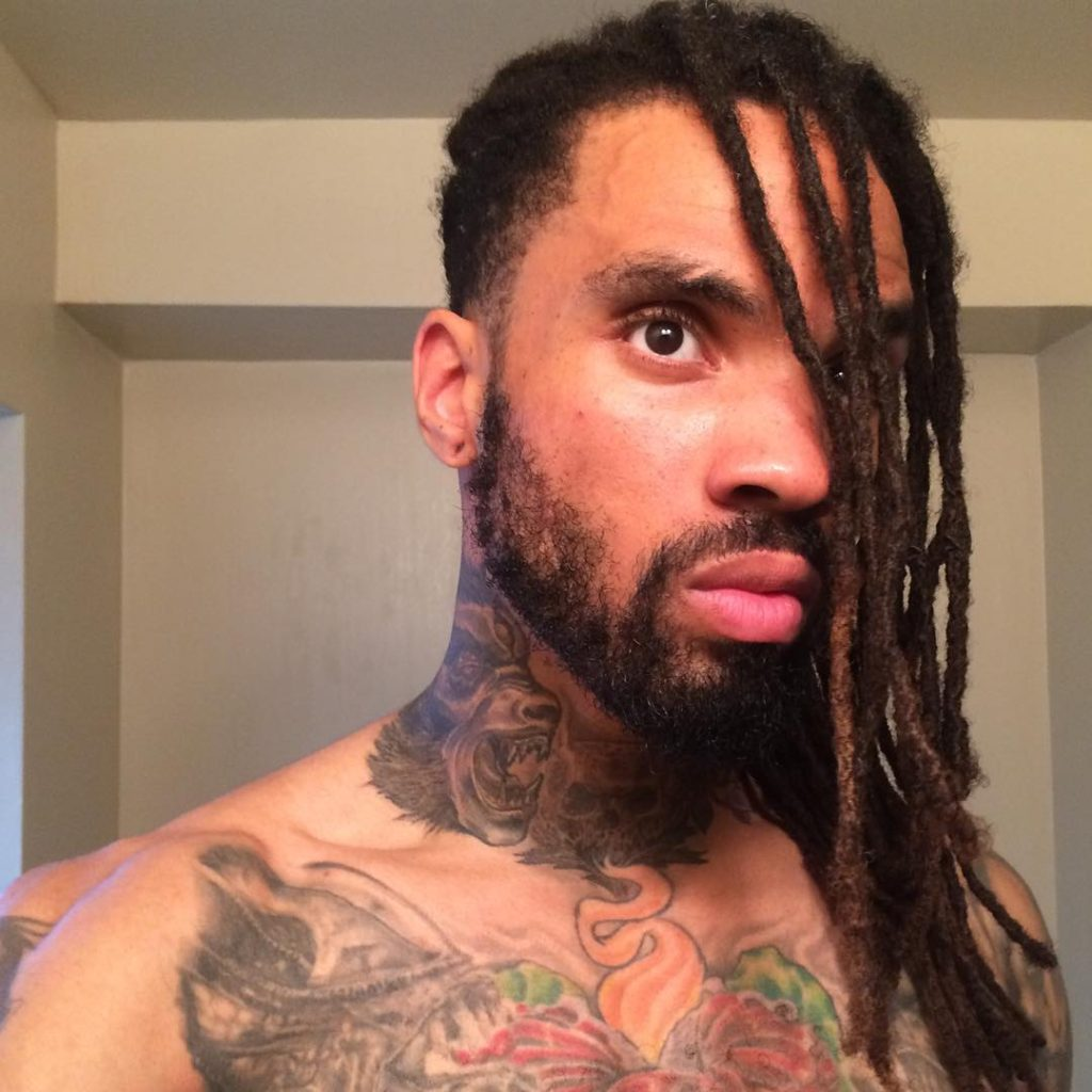 DREADLOCKS HAIRSTYLES FOR MEN