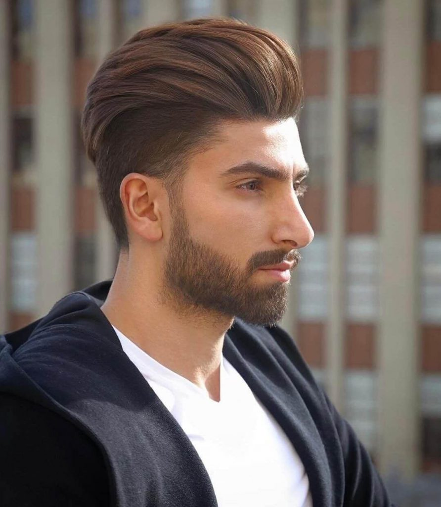 The Undercut with high volume look