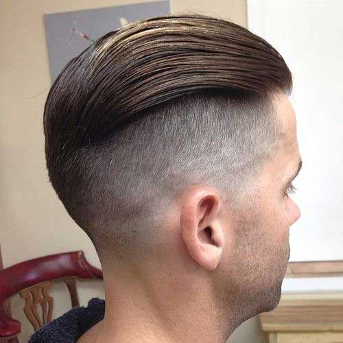 Comb Over Hairstyles - Face Matching Combover Hairstyle