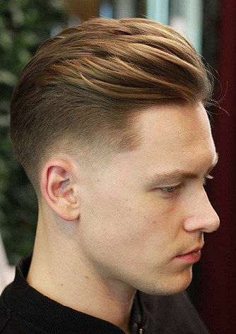 Comb over Undetectable Hairstyle