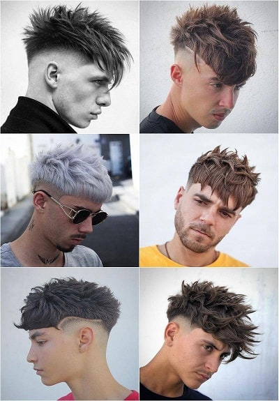 Messy Different looks and styles