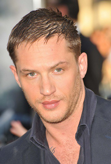 Short Messy Hairstyle Tom Hardy look