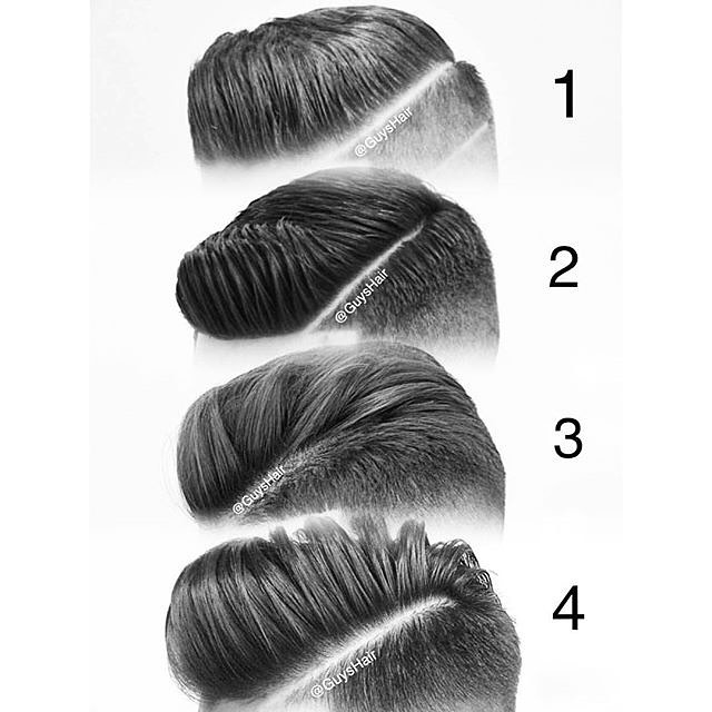 Slick Back Haircuts Trendy Slicked Hair Styles