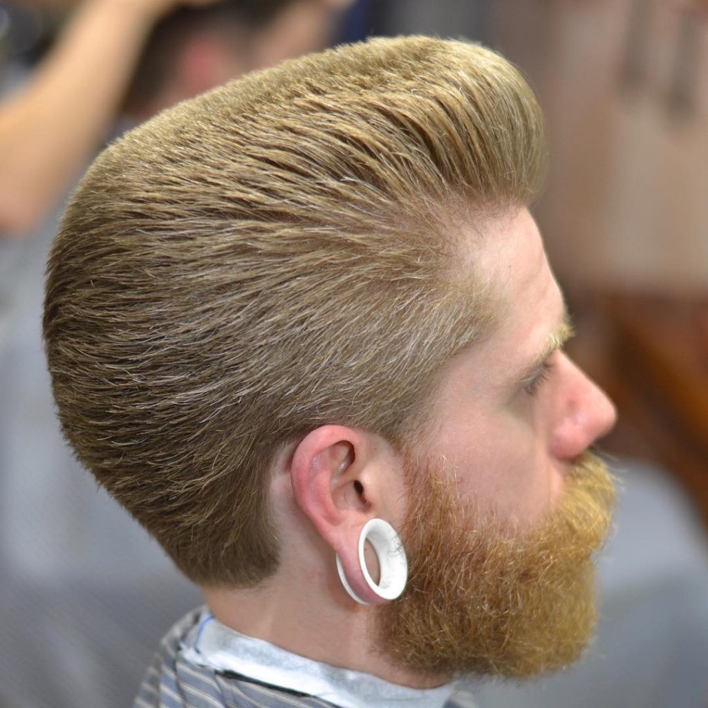Flat top with spikes