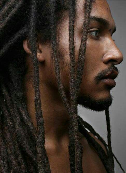 Serious and Sexy - Best Black Men Long Hairstyles