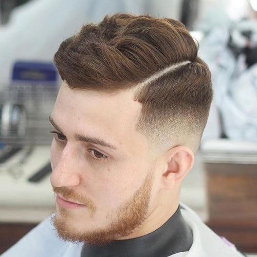 Stylish Short Hipster with Side Swept