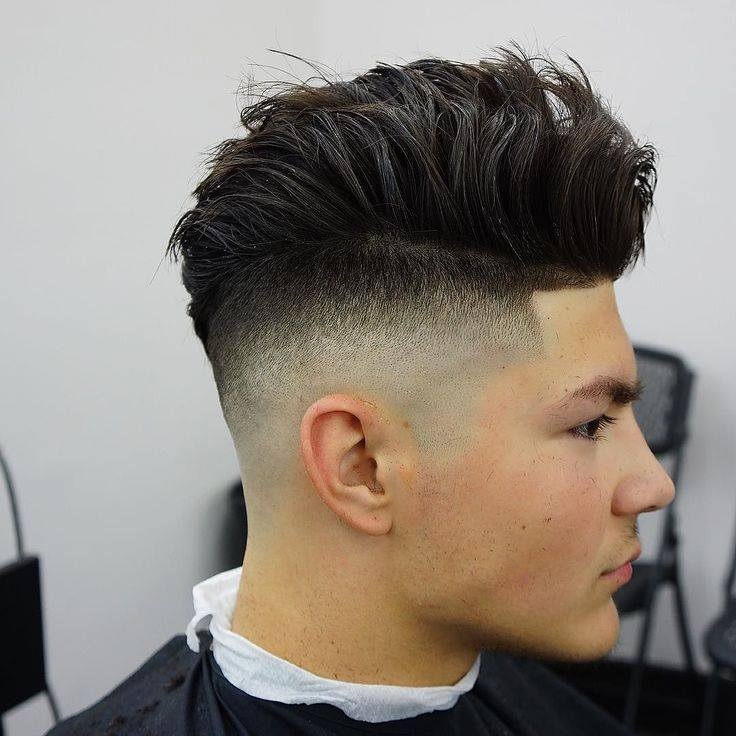 Best Men's Layered Hairstyles - Brown Layers with Undercut