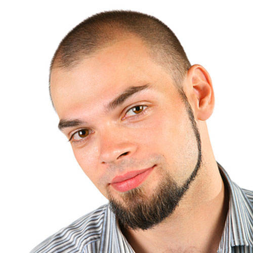 Thick Chinstrap Without Mustache