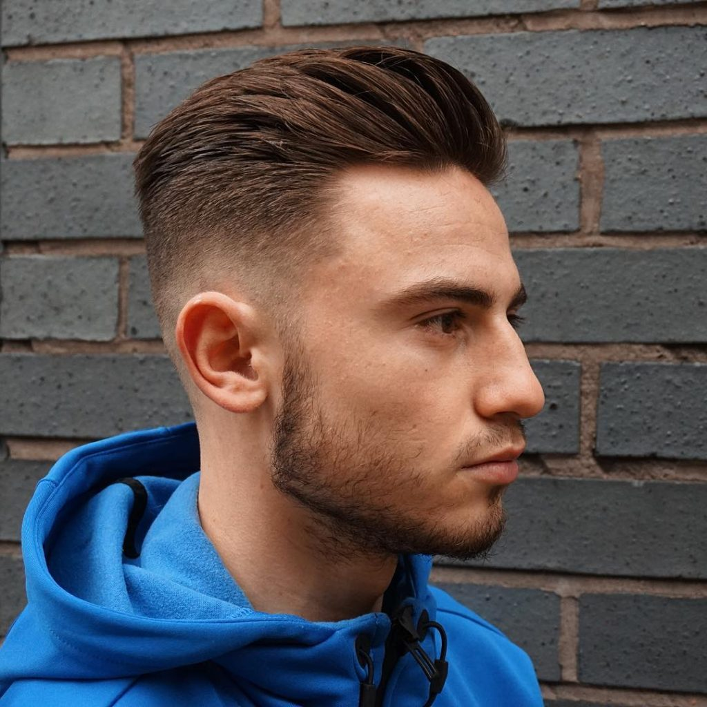Sides Shaved Short Hair Hipster