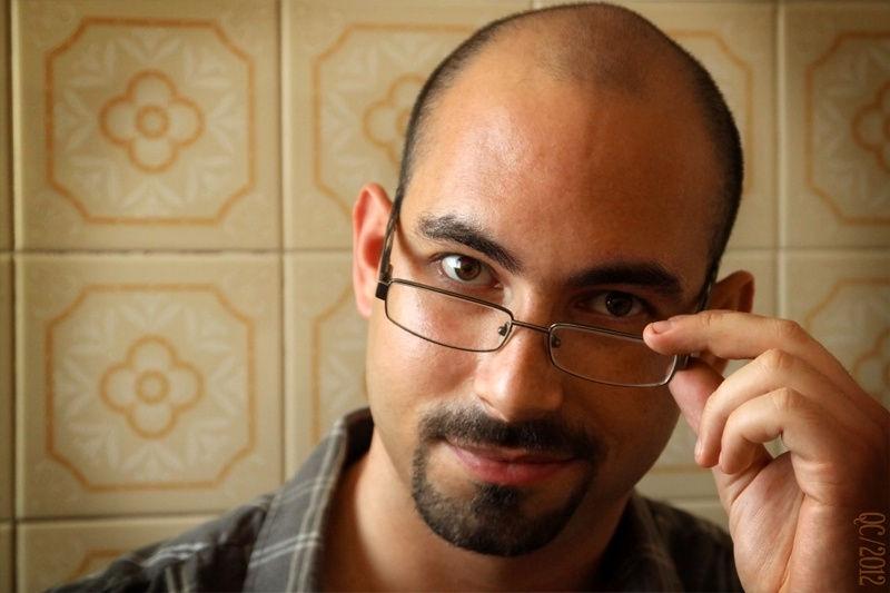 Designer chinstrap with bald