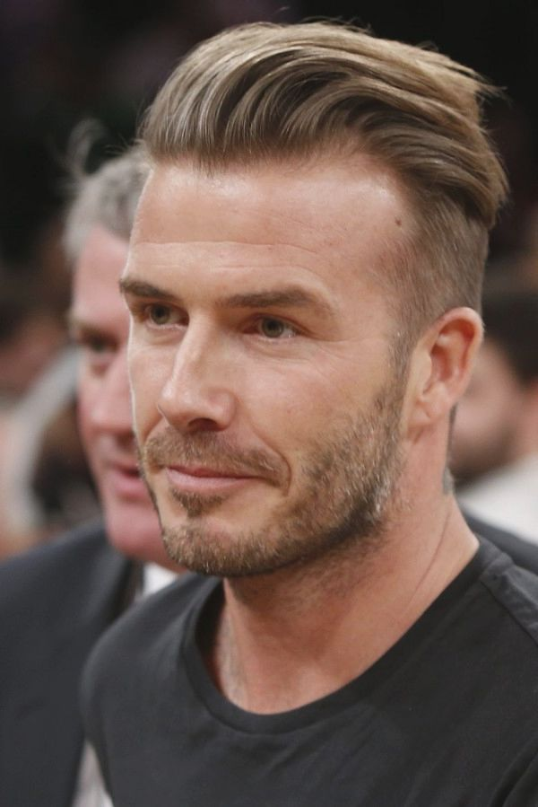 How Does David Beckham Style His Hair Captivating David Beckham Haircut 20 Best David Beckham Celebrity Hairstyles .