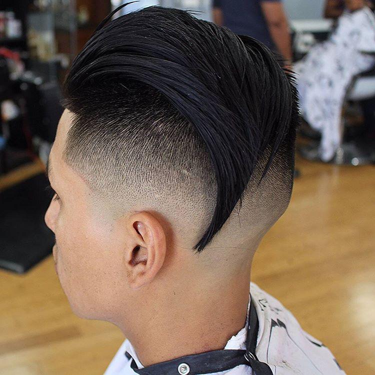 Under Shaved Slick Back