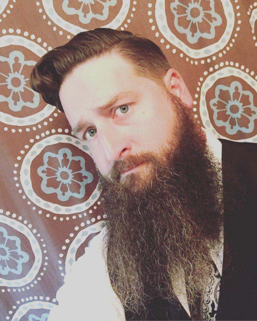 Bearded Slid Back