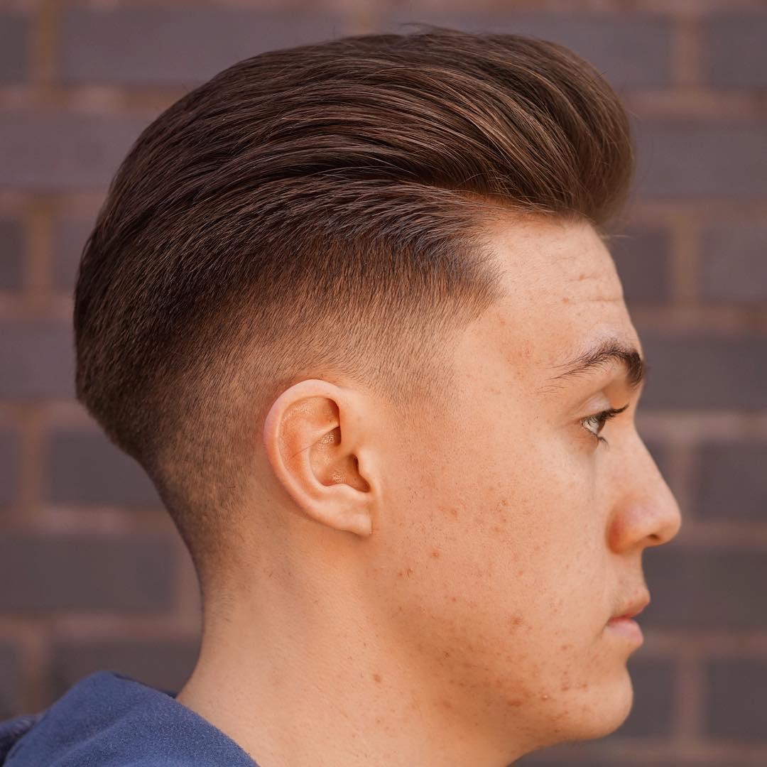 Slick Back Haircuts: 40 Trendy Slicked Back Hair Styles | AtoZ Hairstyles