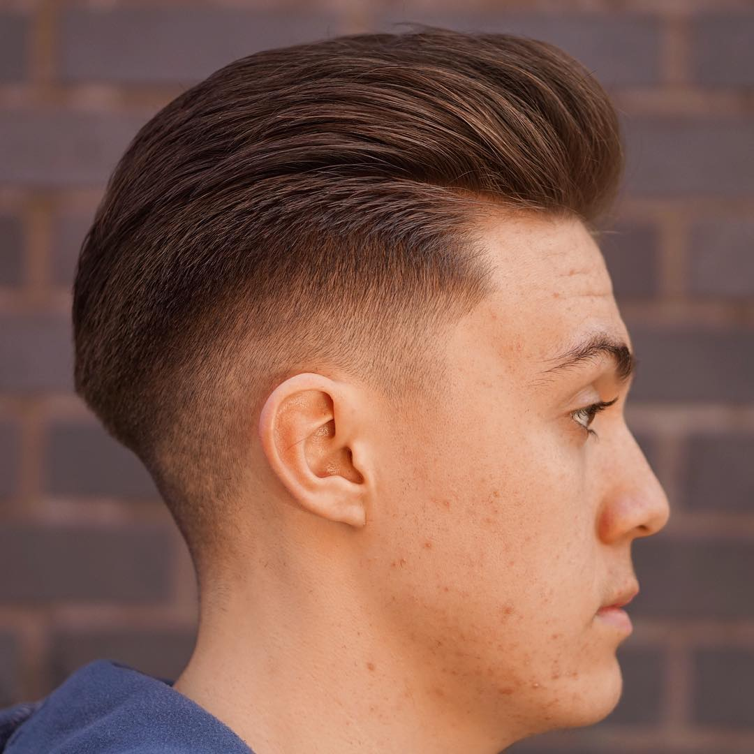 slick back haircuts: 40 trendy slicked back hair styles | atoz
