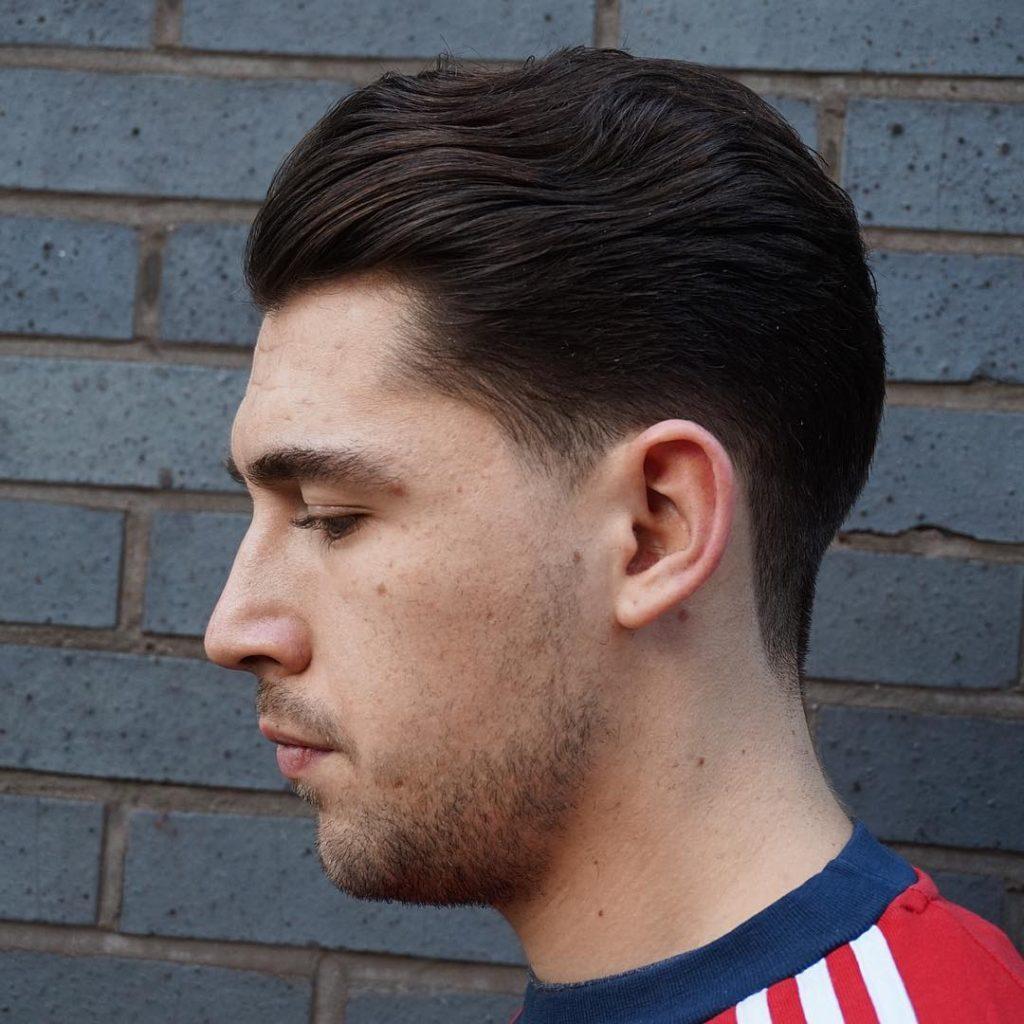 Wavy Tapper Hair cut