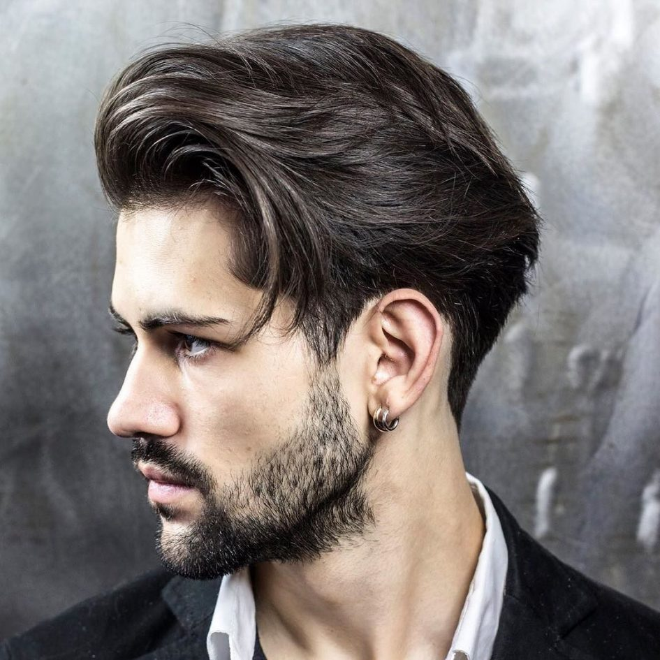 layered haircuts : 40 best men's layered hairstyles for 2016
