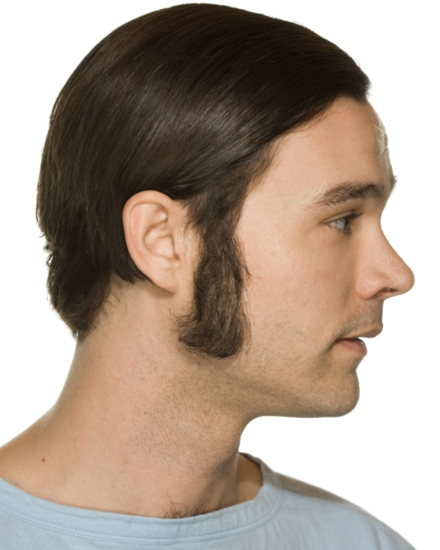 sideburns beard styling