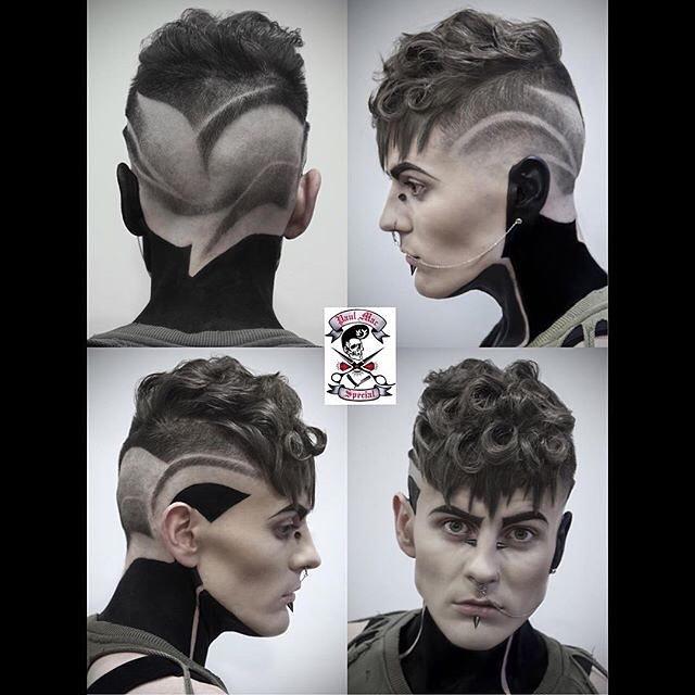 Slick Back Curls