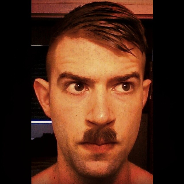 Toothbrush Moustache Style