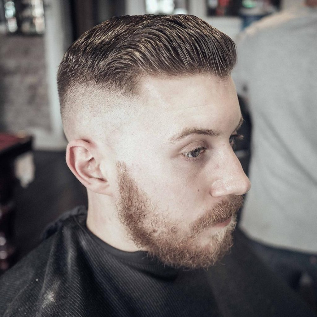 Slick Back Haircuts 40 Trendy Slicked Back Hair Styles