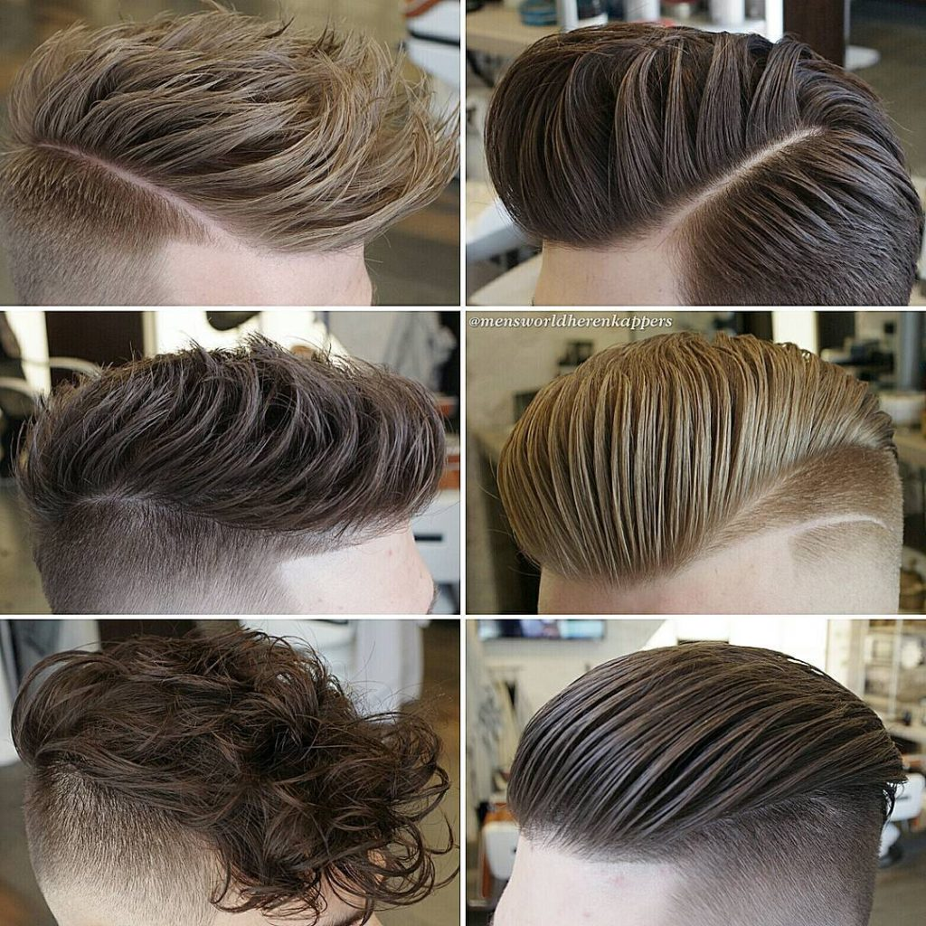 Long Top with Buzzed Sides
